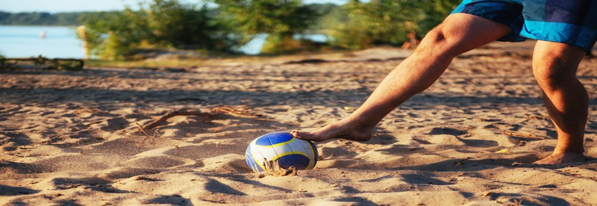 Travel Beach Games to Keep in Shape