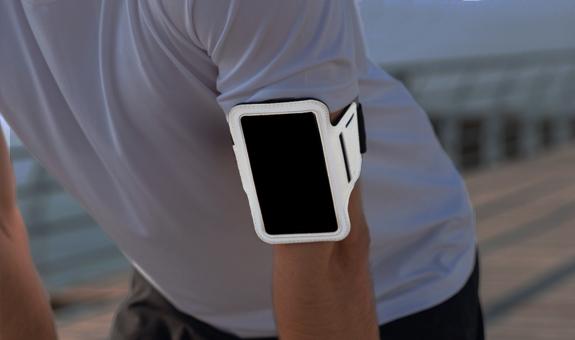 Night Reflective Phone Holder